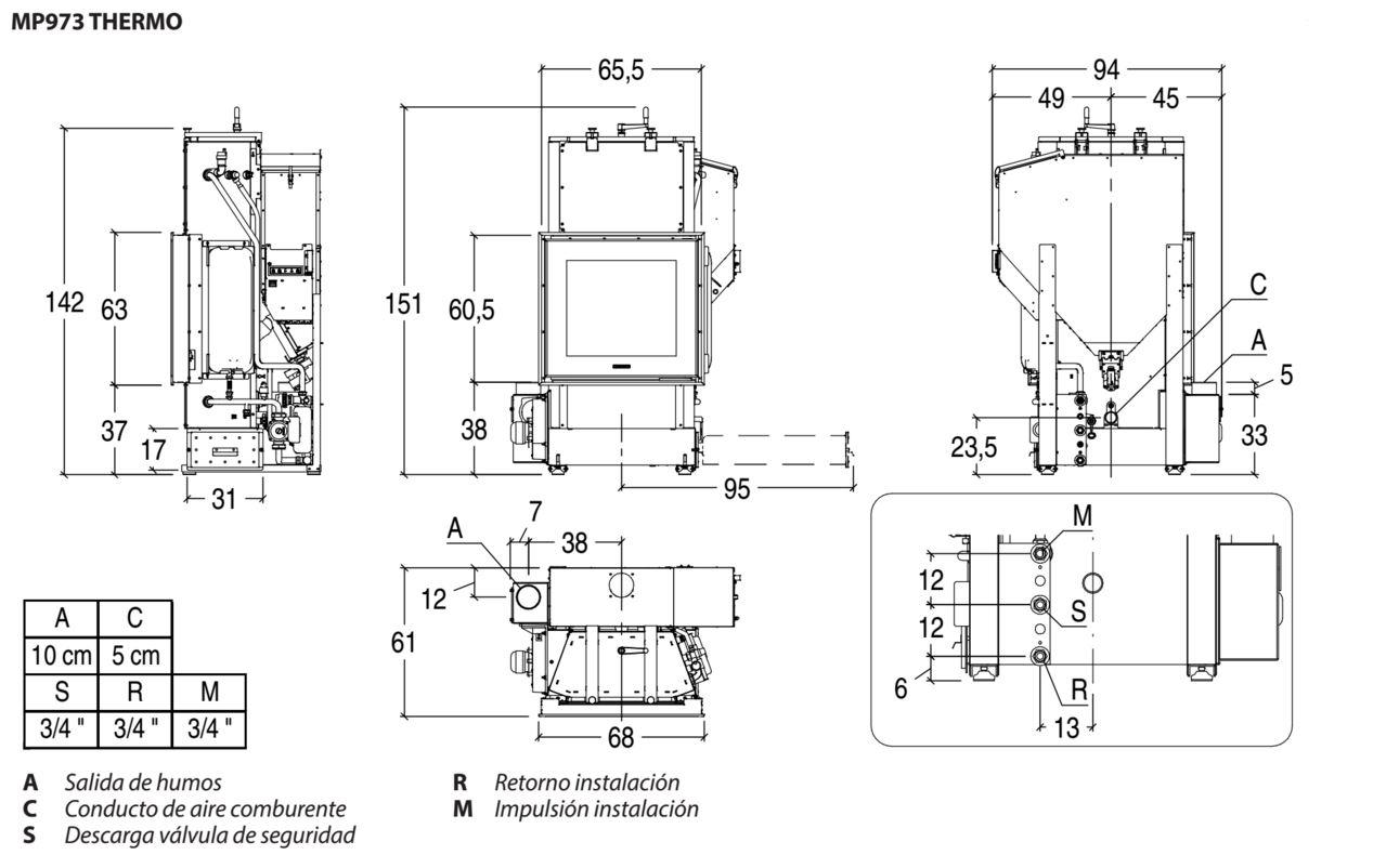 MP 973 dibujos para instalar OK ALTA