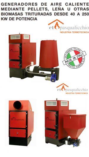 J) Generadores de Aire Caliente