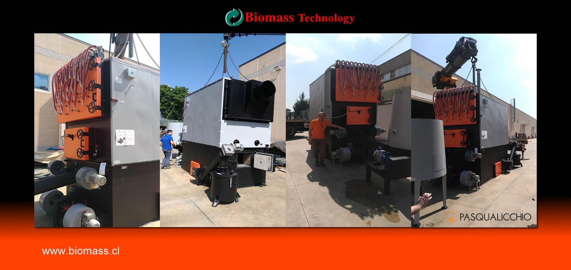 Biomass Technology como representante exclusivo para Chile de Pascualicchio